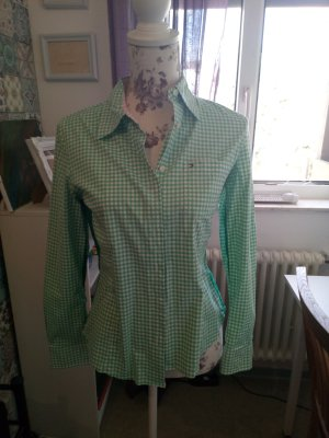 Tommy Hilfiger Checked Blouse white-green