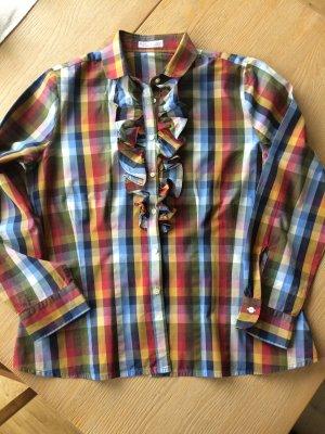 B. M. Company Camicetta a blusa multicolore