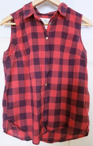 H&M L.O.G.G. Geruite blouse veelkleurig Katoen