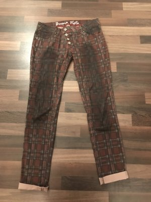 Karierte Buena Vista Jeans
