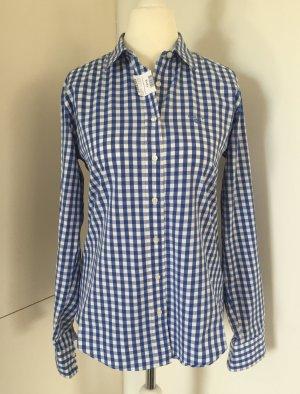 Karierte Damen-Hemdbluse in Blau/Weiß von Gant (NP 99,00 €) - nur wenige Male getragen