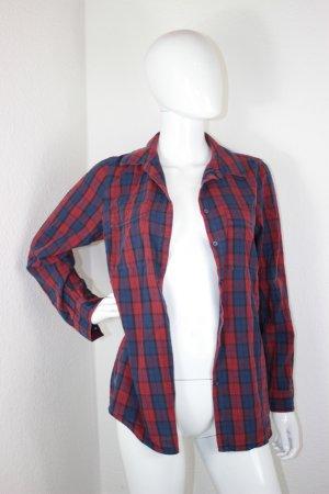 Blue Motion Geruite blouse veelkleurig