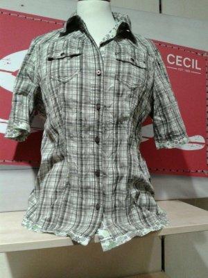 Karierte Damenbluse von Cecil