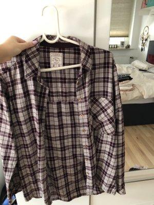 Pull & Bear Camisa de leñador multicolor