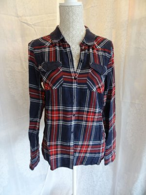 Noisy May Flannel Shirt multicolored
