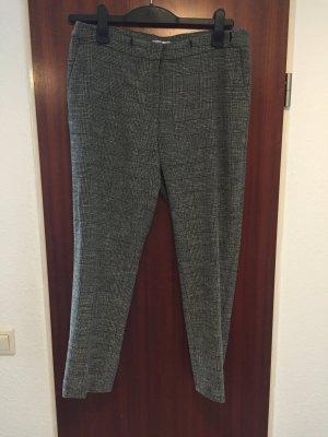 H&M Pantalon à pinces noir-gris