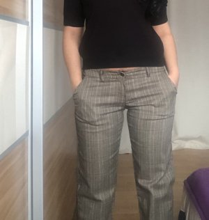 0039 Italy Low-Rise Trousers multicolored