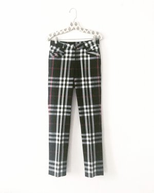 Vintage Woolen Trousers multicolored