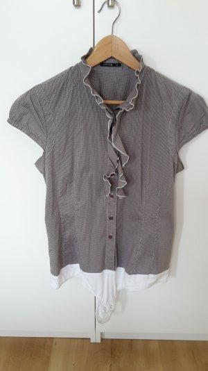 Comma Ruche blouse veelkleurig