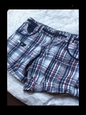 karierte kurze Hose / Shorts Gr M