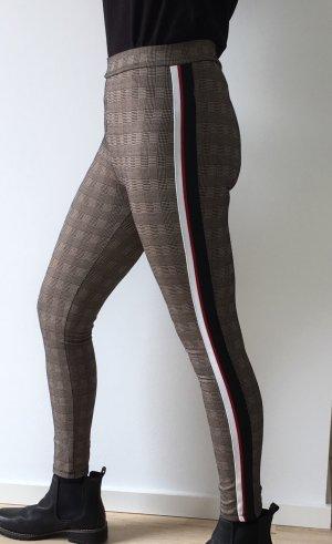 Zara Legging marron clair-bronze