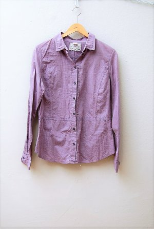 Karierte Leichte Hemd-Bluse -