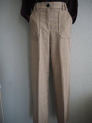 Bershka Pantalone Marlene multicolore Tessuto misto