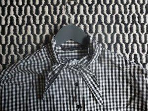 Karierte Oversized Bluse
