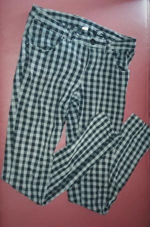 H&M Drainpipe Trousers light grey-grey