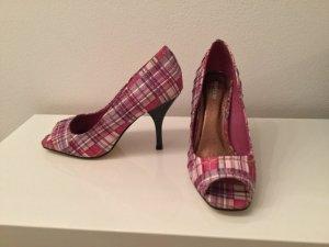 Karierte Schuhe i gr. 37