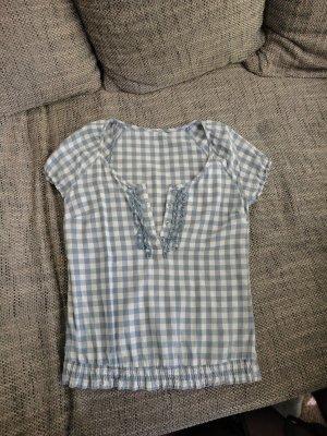 Karierte Shirt Bluse