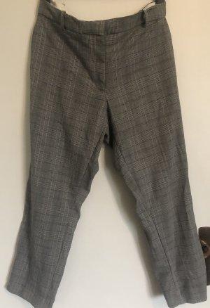 H&M Pantalon à pinces blanc-noir