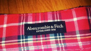 Karierter Abercrombie & Fitch Minirock