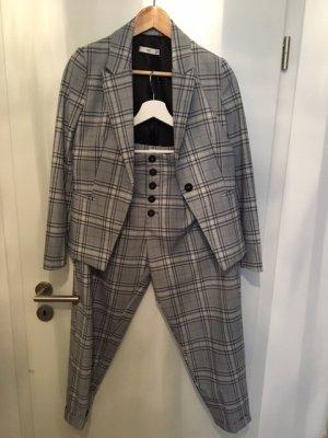 Mango Suit Trouser Suit multicolored mixture fibre