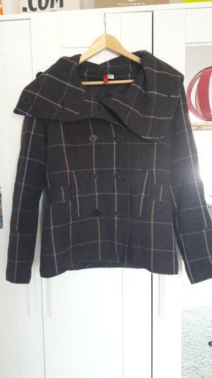 Karierter Mantel von H&M in Größe 42