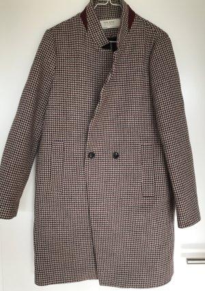 Karierter Mantel von Zara