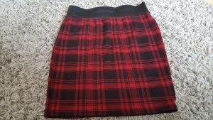 Ann Christine Mini rok zwart-rood