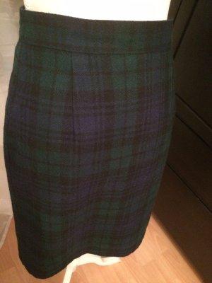 Vintage Pencil Skirt black-dark green