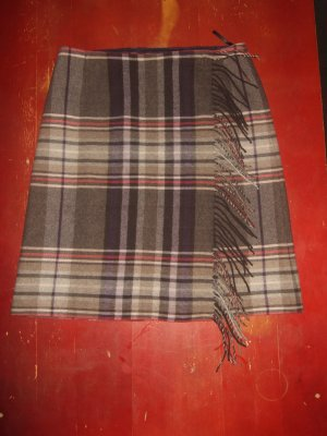 s.Oliver Wraparound Skirt multicolored new wool