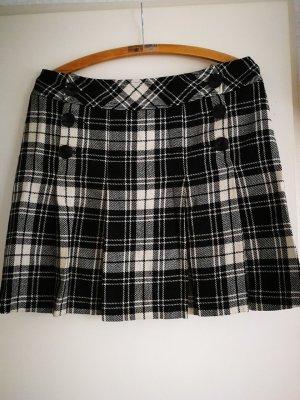 Yessica Pencil Skirt white-black