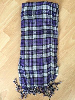 Karierter Schal in lila von Street One