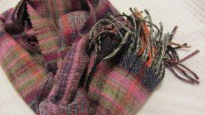 Esprit Écharpe à franges multicolore