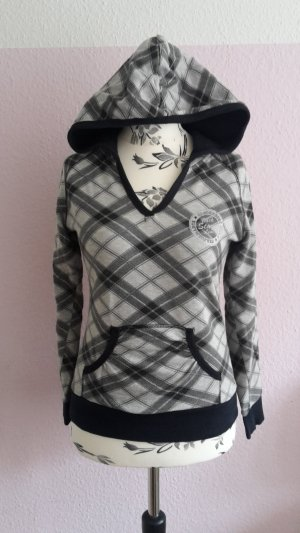 Karierter Sweat Pulli von Clockhouse Gr. S