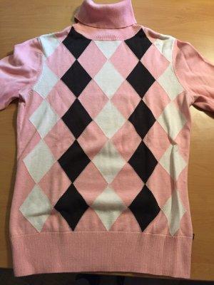 Karierter Turtleneck Pullover Ralph Lauren