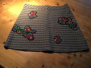 Zara Mini-jupe multicolore tissu mixte