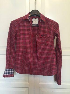 Abercrombie & Fitch Camicia da boscaiolo multicolore Cotone