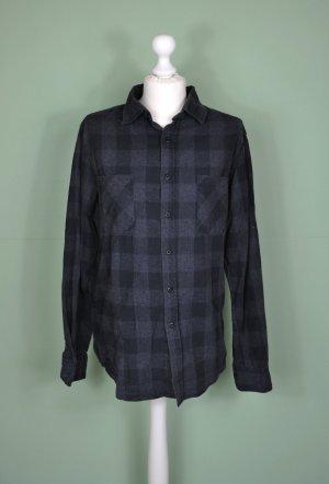 Urban Classics Camisa de leñador negro-gris