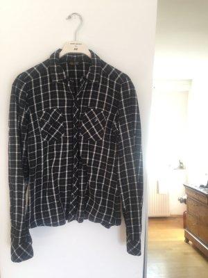 Carhartt Camicia di flanella nero-bianco