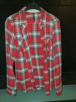 Formal Shirt white-red