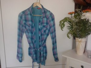 H&M Shirt met lange mouwen veelkleurig Wol