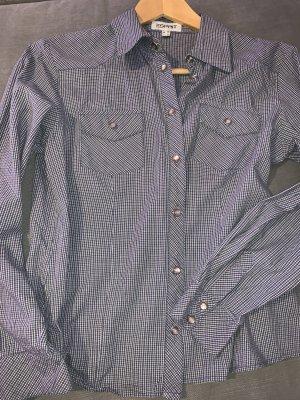 Esprit Long Sleeve Shirt white-slate-gray