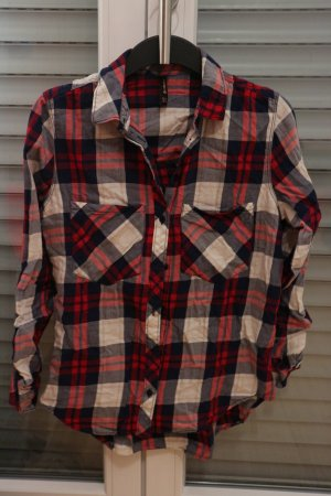 Stradivarius Camisa de leñador multicolor