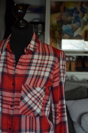 kariertes Hemd / Bluse / Shirt