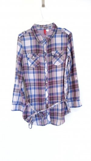 H&M Divided Checked Blouse multicolored