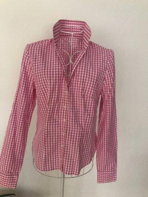 Lodenfrey Long Sleeve Shirt white-pink