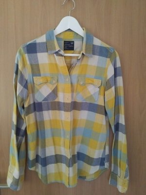 American Eagle Outfitters Blouse à carreaux multicolore