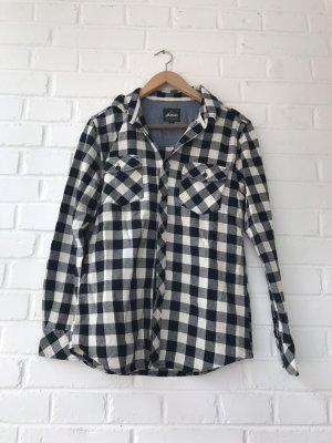 Flatbush Camicia da boscaiolo nero-bianco