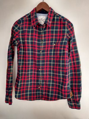 H&M Lumberjack Shirt red-forest green