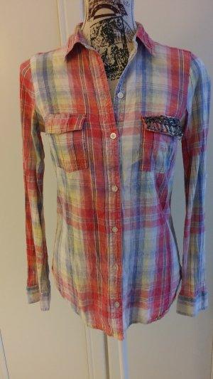 Zara Zakelijk overhemd veelkleurig