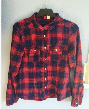 Kariertes Holzfällerhemd/ Karierte Bluse von H&M
